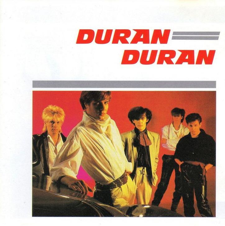 1981 DURAN DURAN FIRST ALBUM COVER
